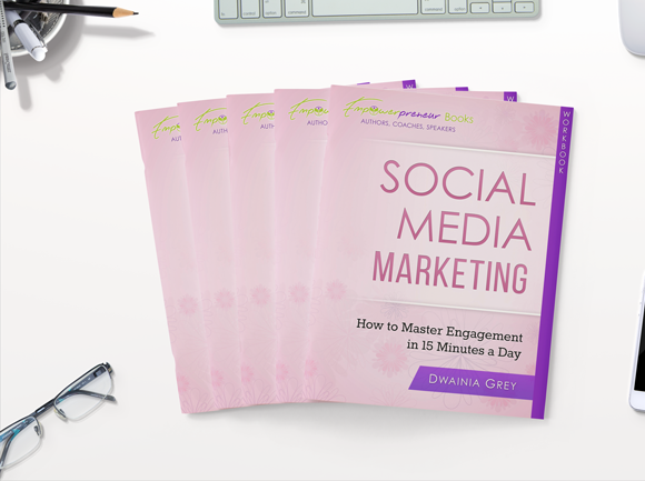 Social Media Workbook and Planner for Authors, Coaches and Speakers