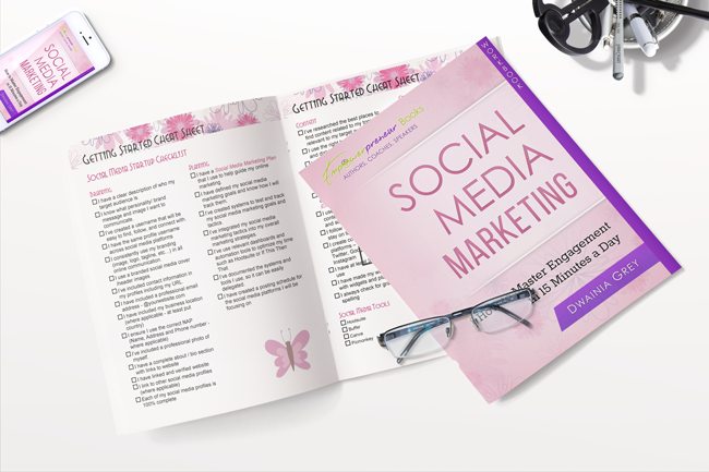 Social Media Workbook & Journal Bundle (PDF)