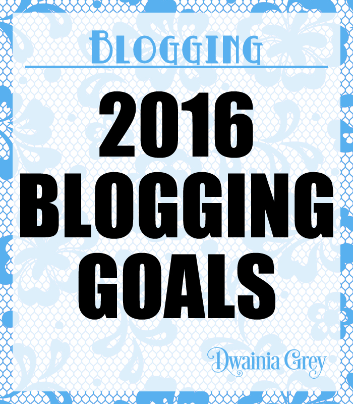 2018 Blogging Goals