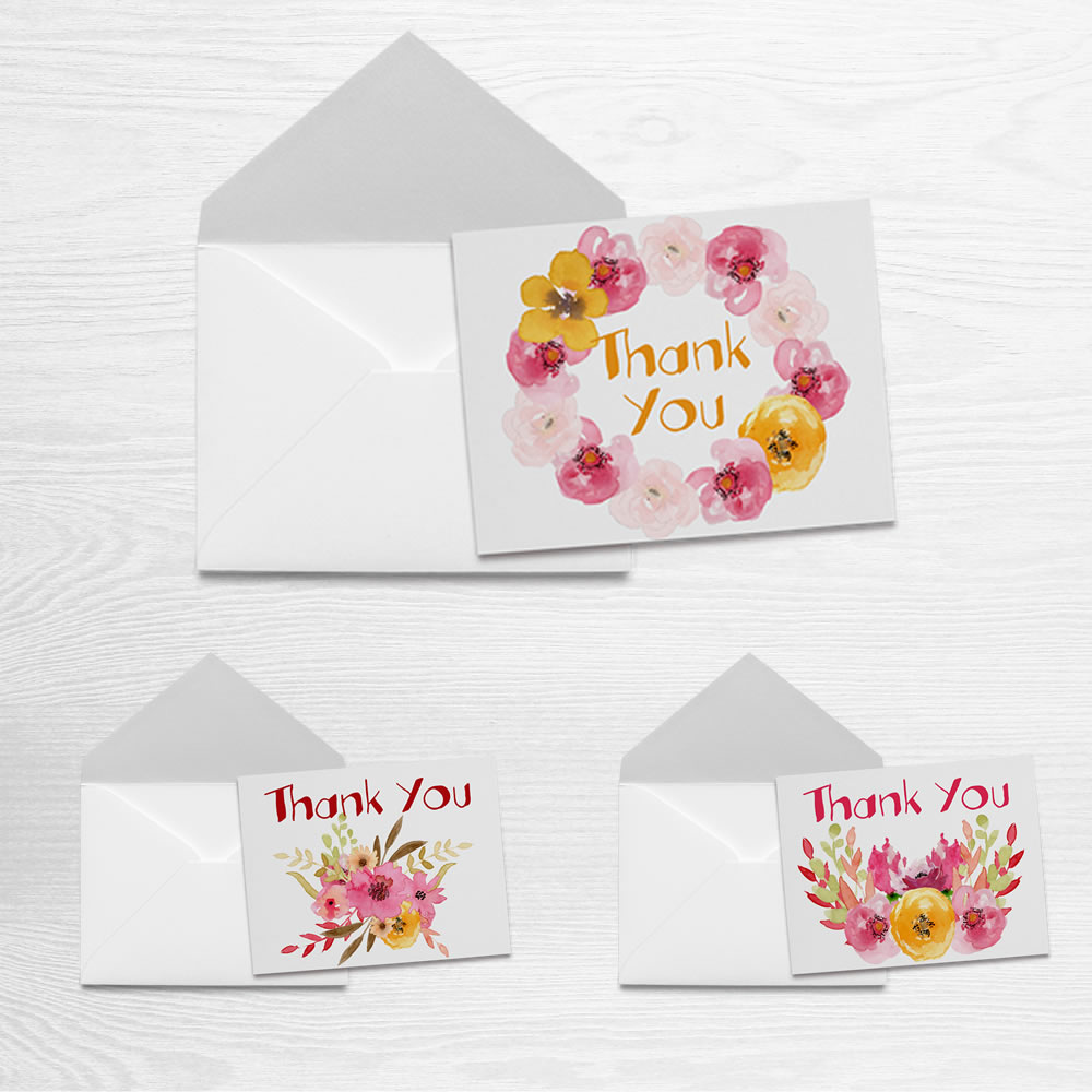 2017 Spring Thank you Cards