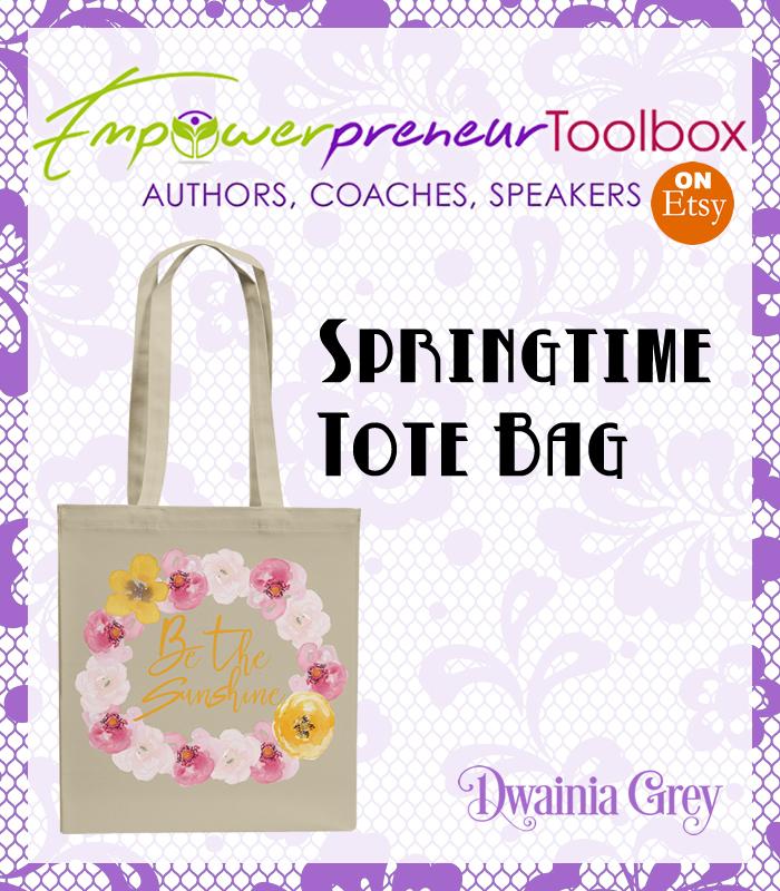 2017 Spring Tote Bag - Dwainia Grey